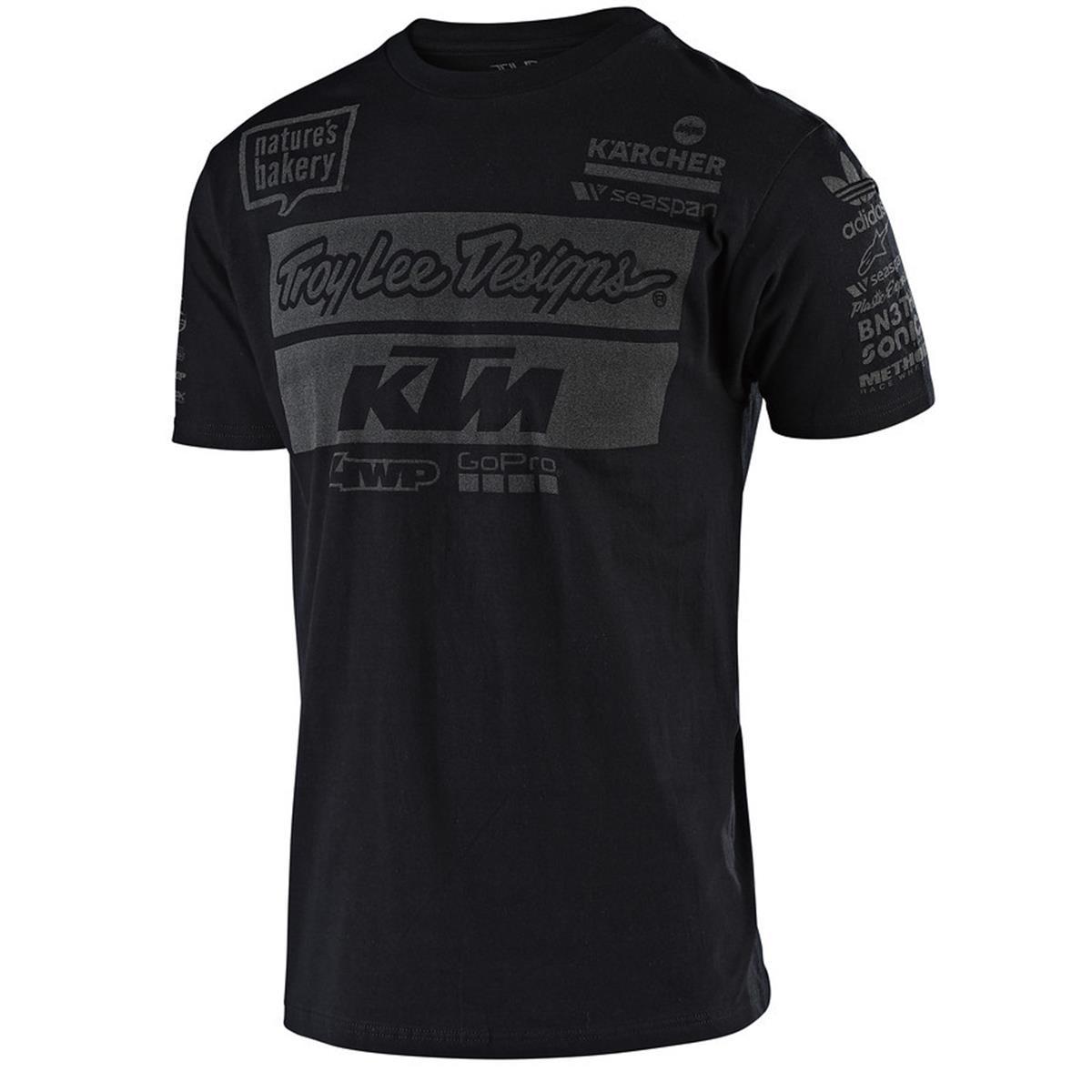 Troy Lee Designs T-Shirt KTM Team Schwarz