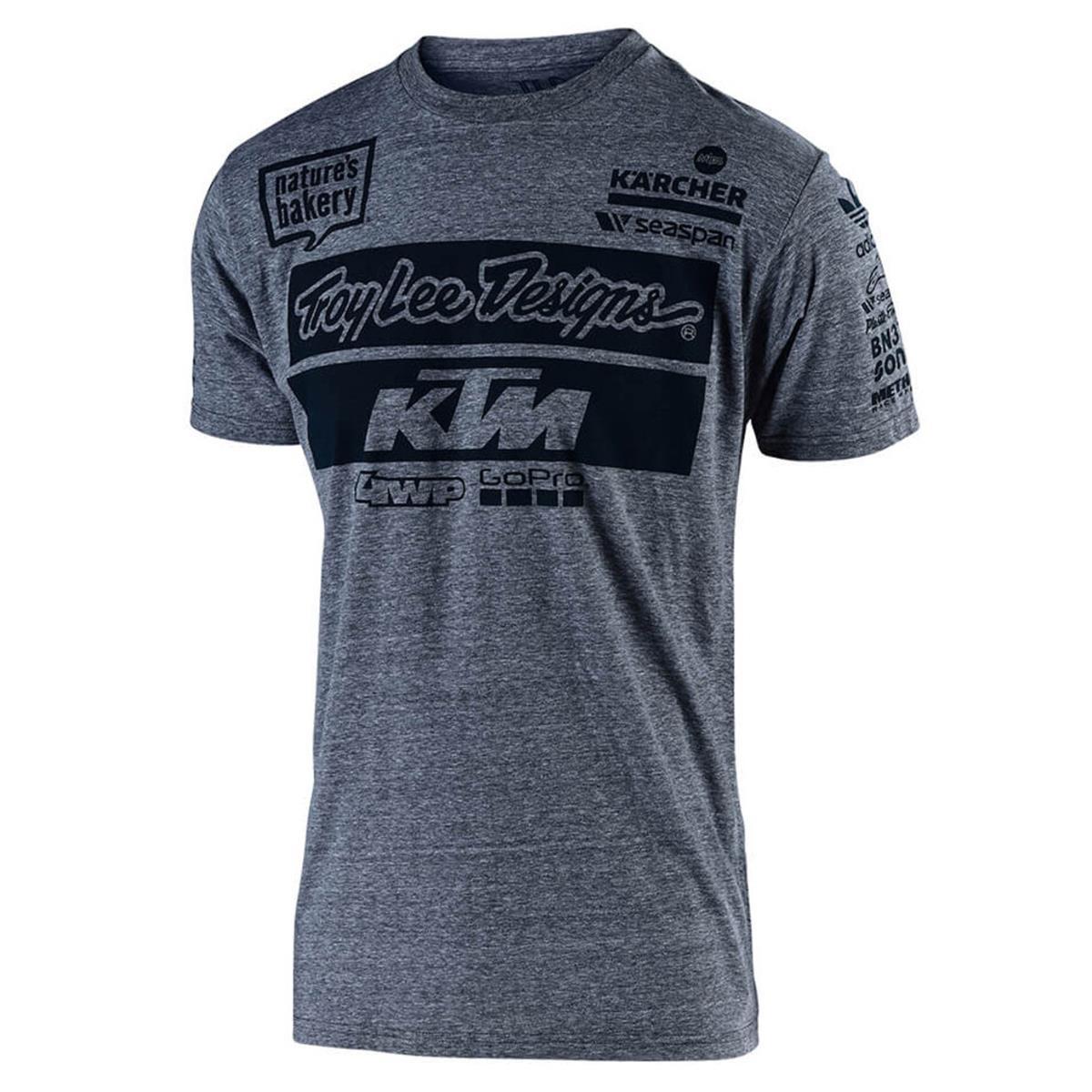 Troy Lee Designs Kids T-Shirt KTM Team Charcoal Heather
