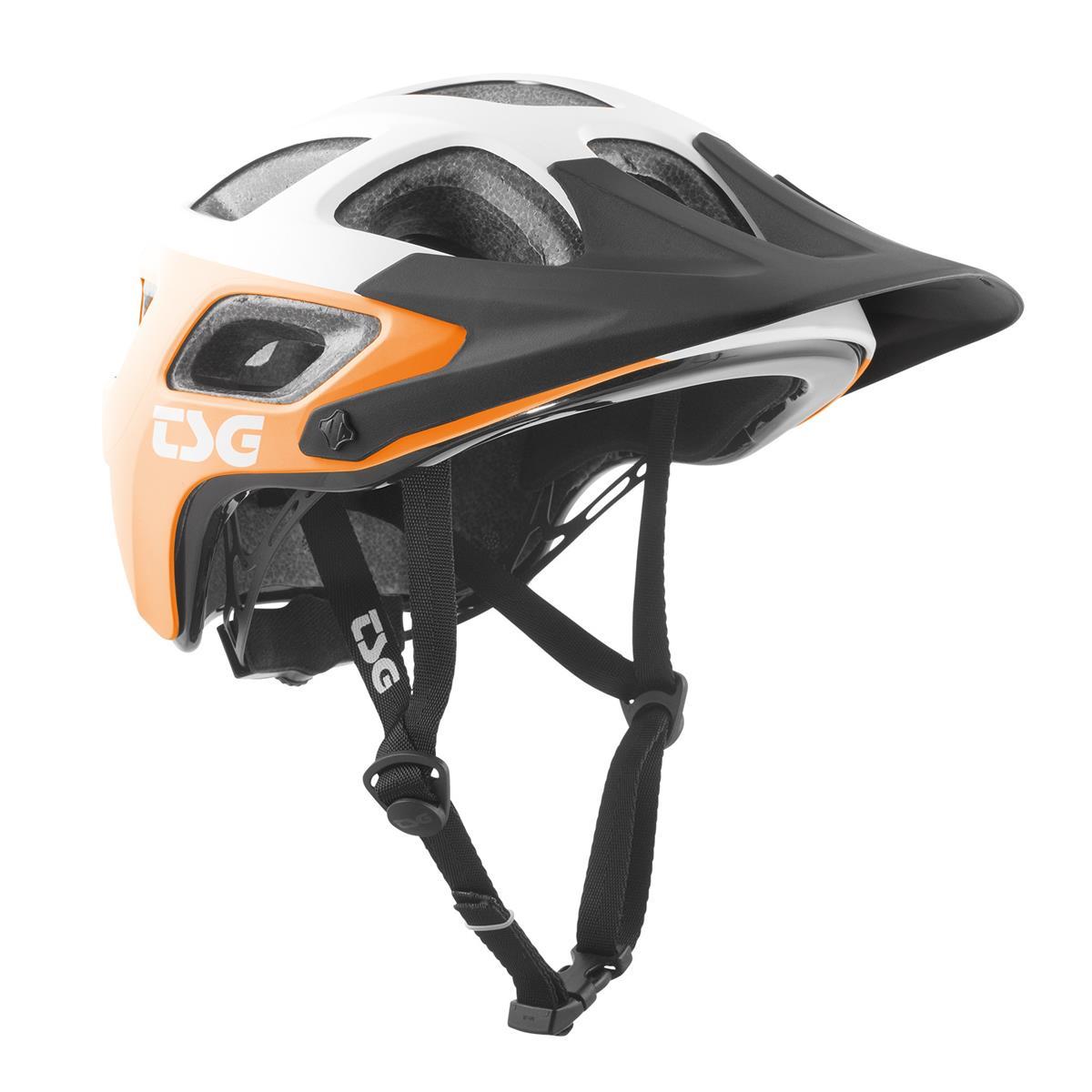 TSG Trail-MTB Helm Seek Graphic Design - Block Acid/Orange/Weiß
