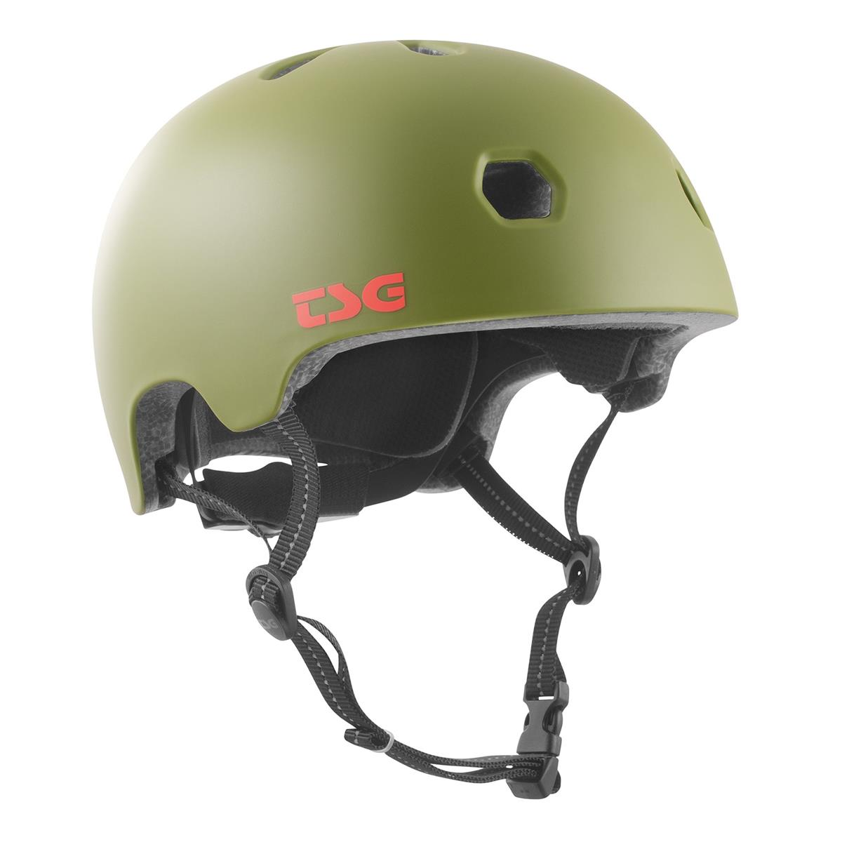 TSG BMX/Dirt Helm Meta Solid Color - Satin Olive