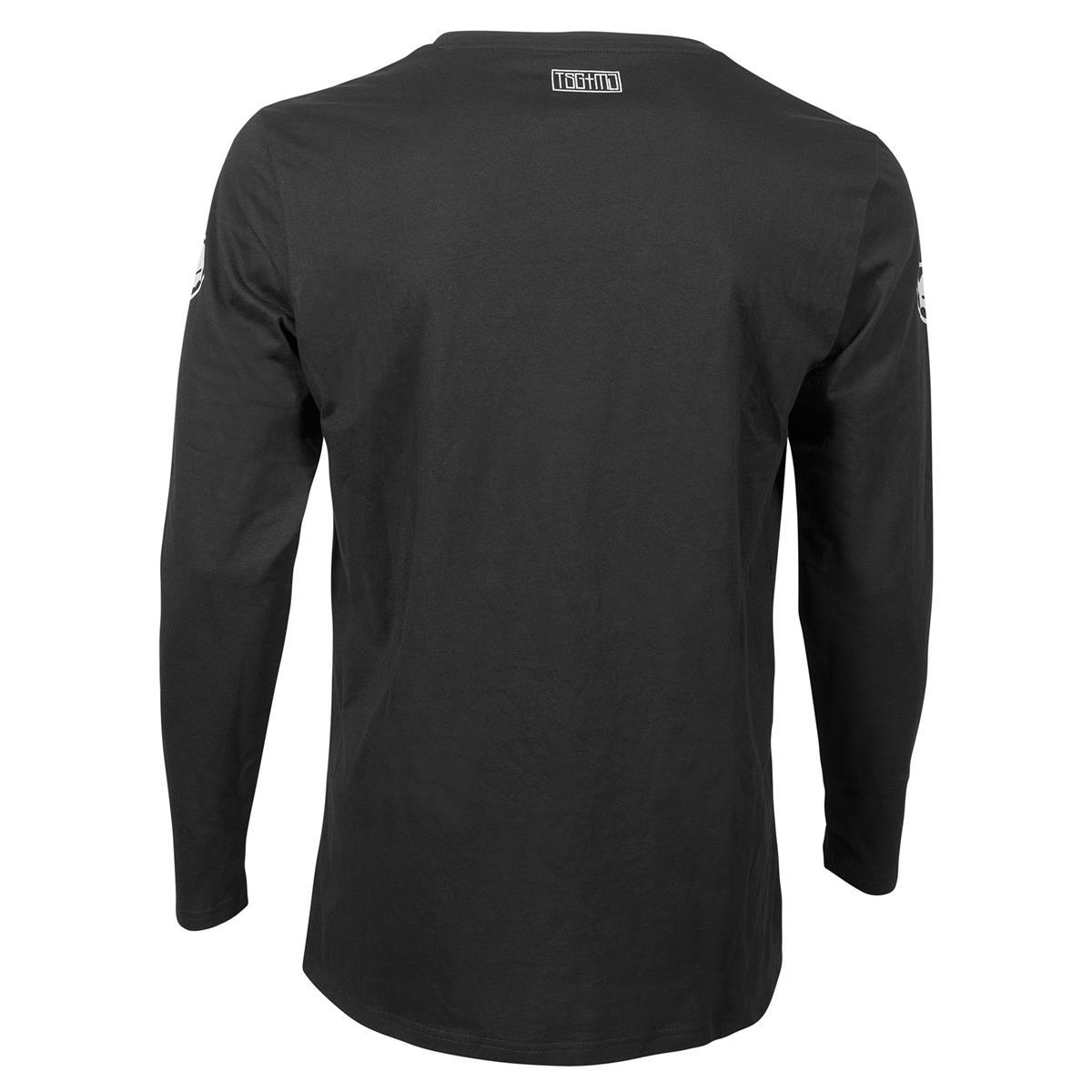 TSG 3/4-Arm Shirt MJ2 Schwarz