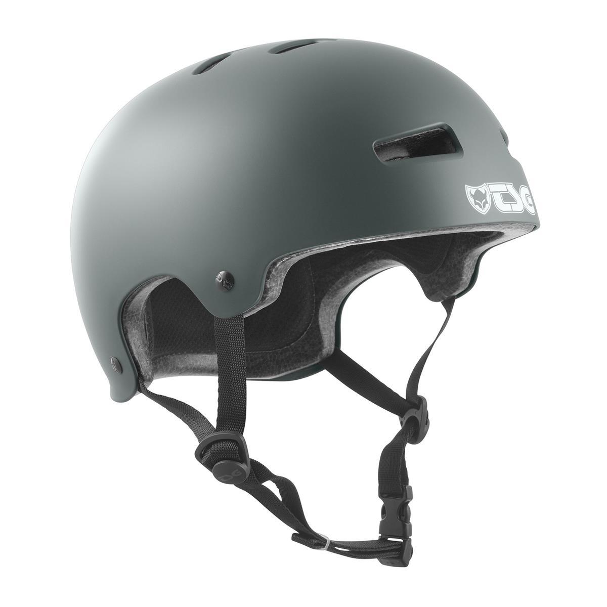TSG BMX/Dirt Helmet Evolution Solid Color - Satin Marsh