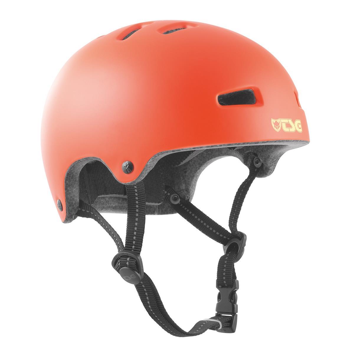 TSG Kids BMX/Dirt Helm Nipper Mini Solid Color - Satin Lychee