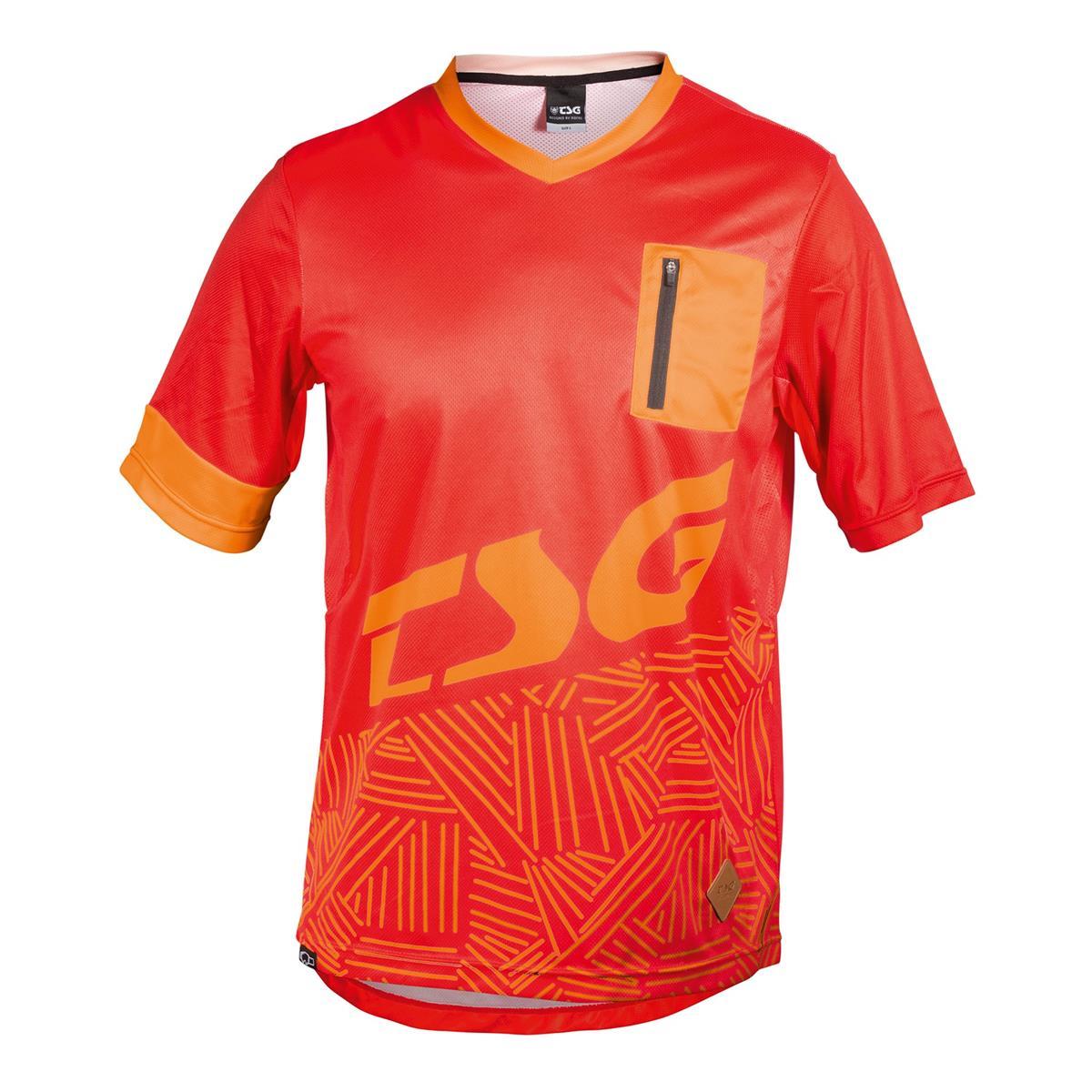 TSG Trail-Jersey SP3 Rot/Acid Orange