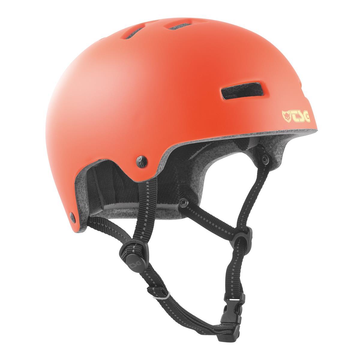 TSG Kids BMX/Dirt Helm Nipper Maxi Solid Color - Satin Lychee