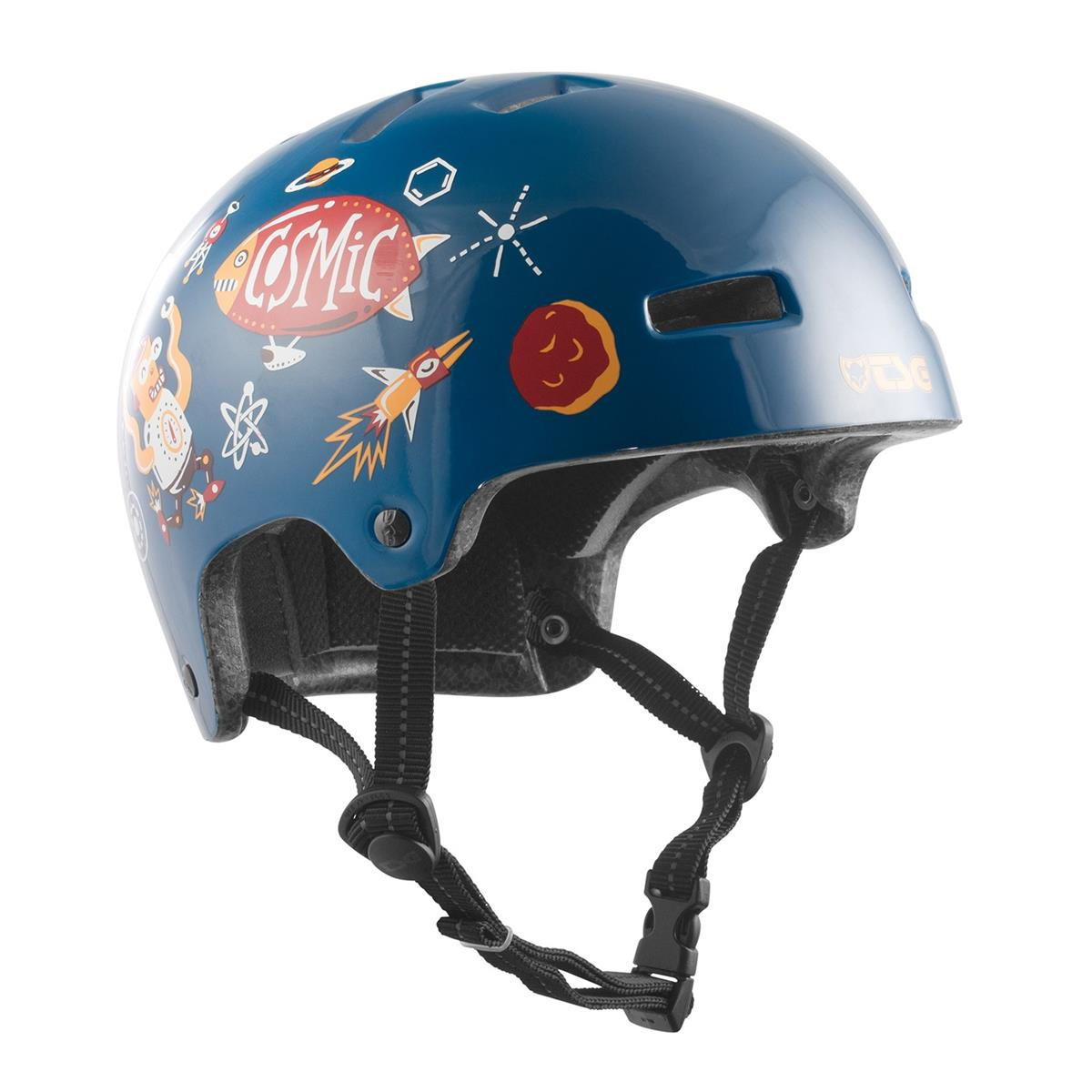 TSG Kids BMX/Dirt Helm Nipper Maxi Graphic Design - Turbo Cosmic