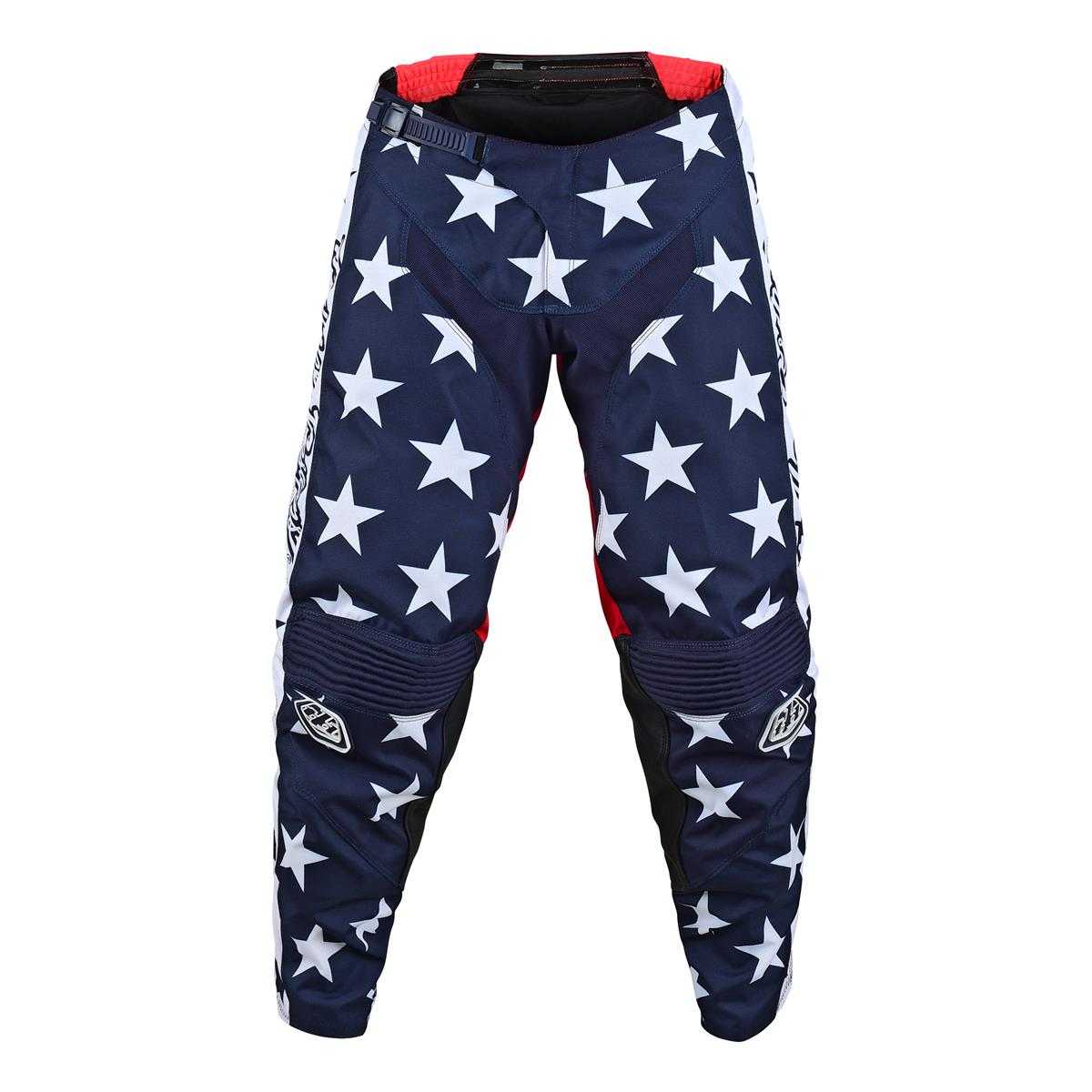 Troy Lee Designs GP Independence Limited Edition Mens Off-Road Motorcycle Pants 28 Navy//Red