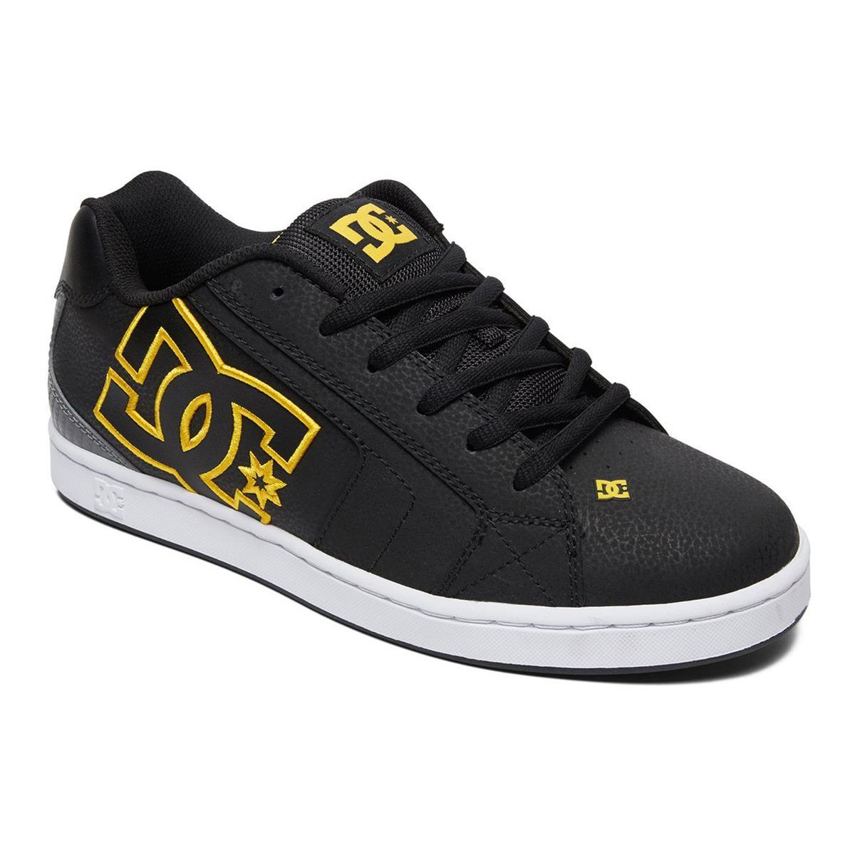 DC Schuhe Net Schwarz/Gold