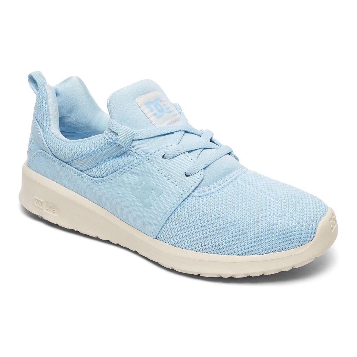 DC Girls Shoes Heathrow Light Blue