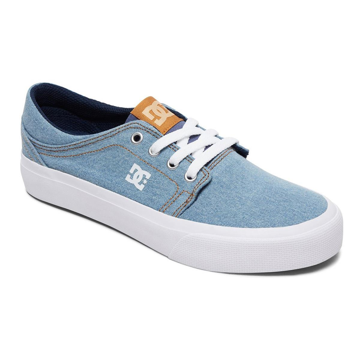 DC Girls Shoes Trase TX SE Blue/White