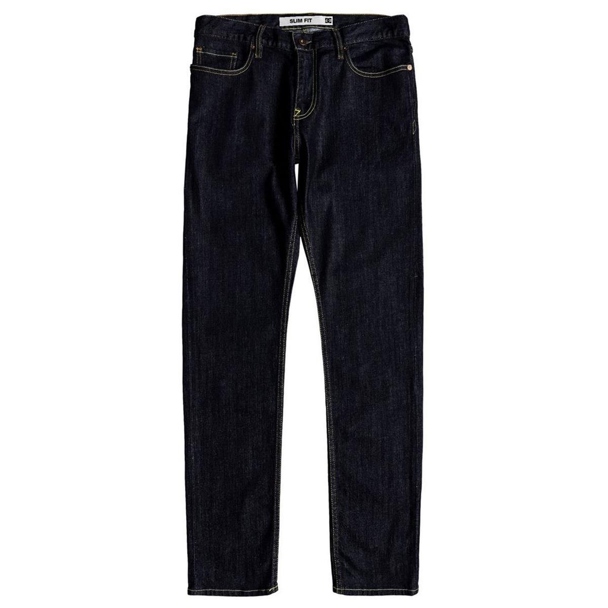 DC Jeans Worker Slim Denim Indigo Rinse