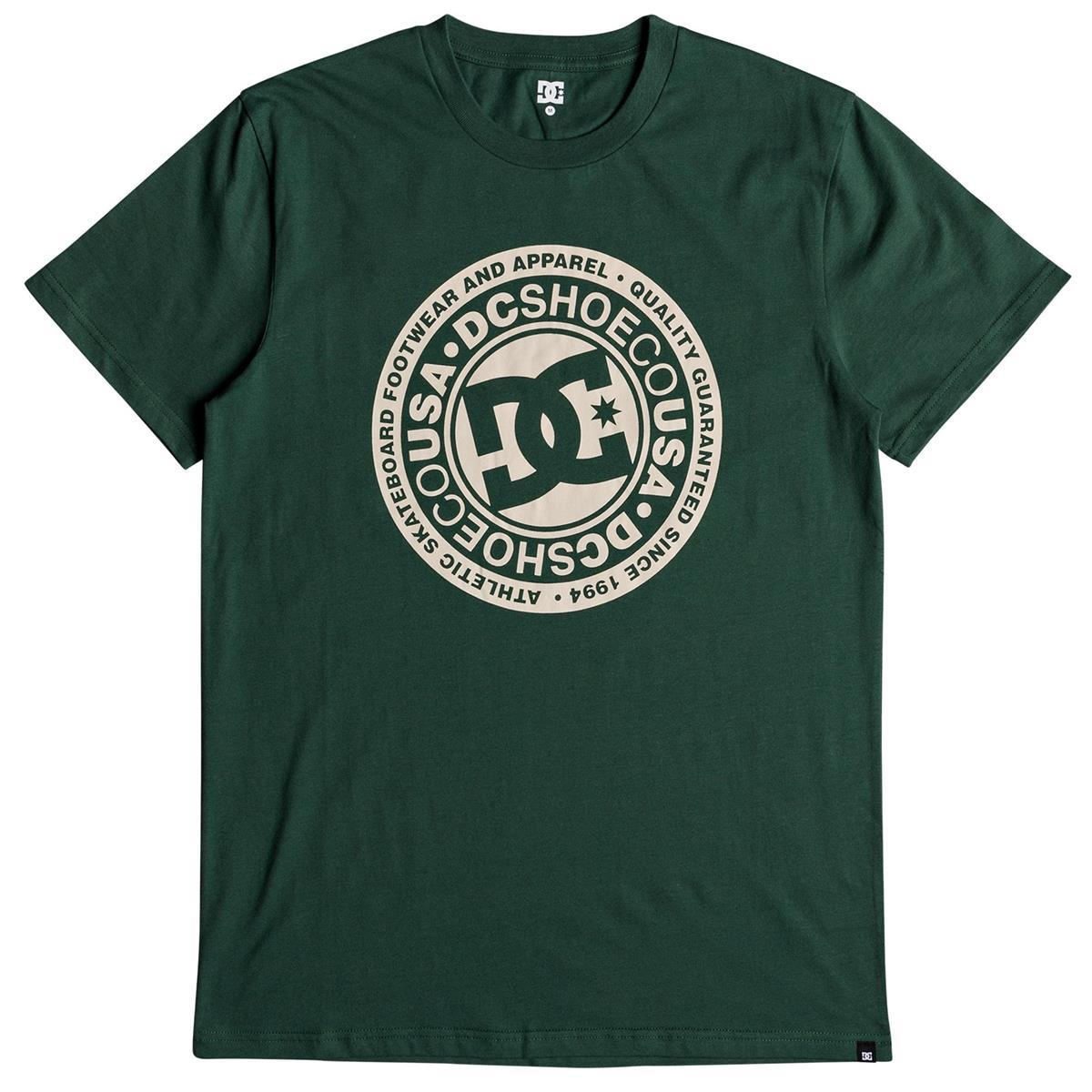 DC T-Shirt Circle Star 2 Hunter Grün
