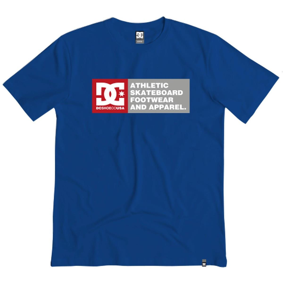 DC T-Shirt Vertical Zone 2 Nautical Blue
