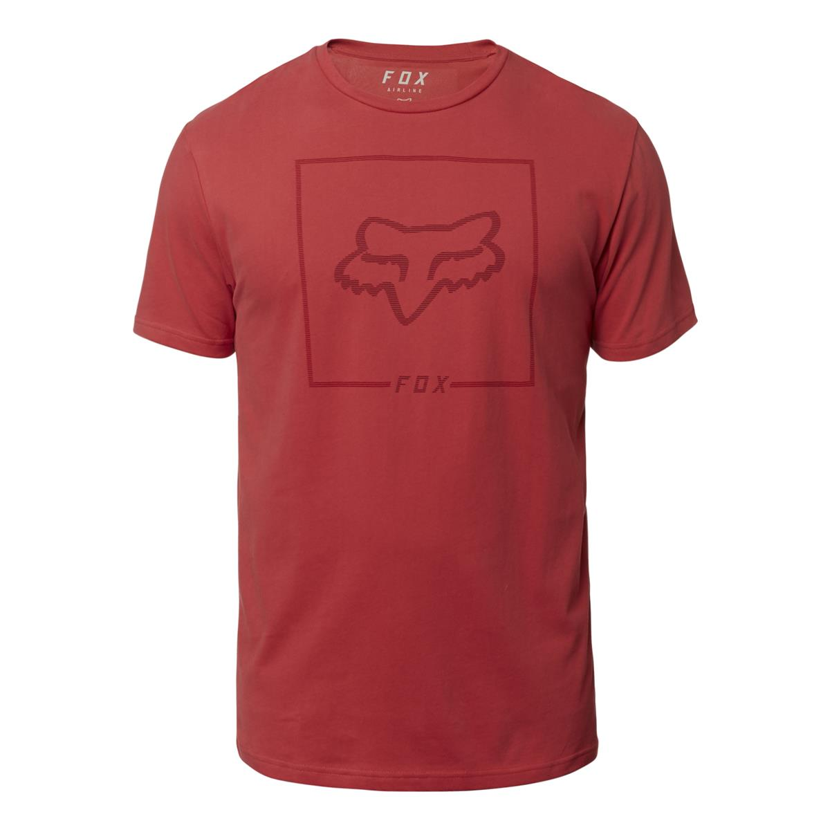 Fox T-Shirt Chapped Airline Rio Red