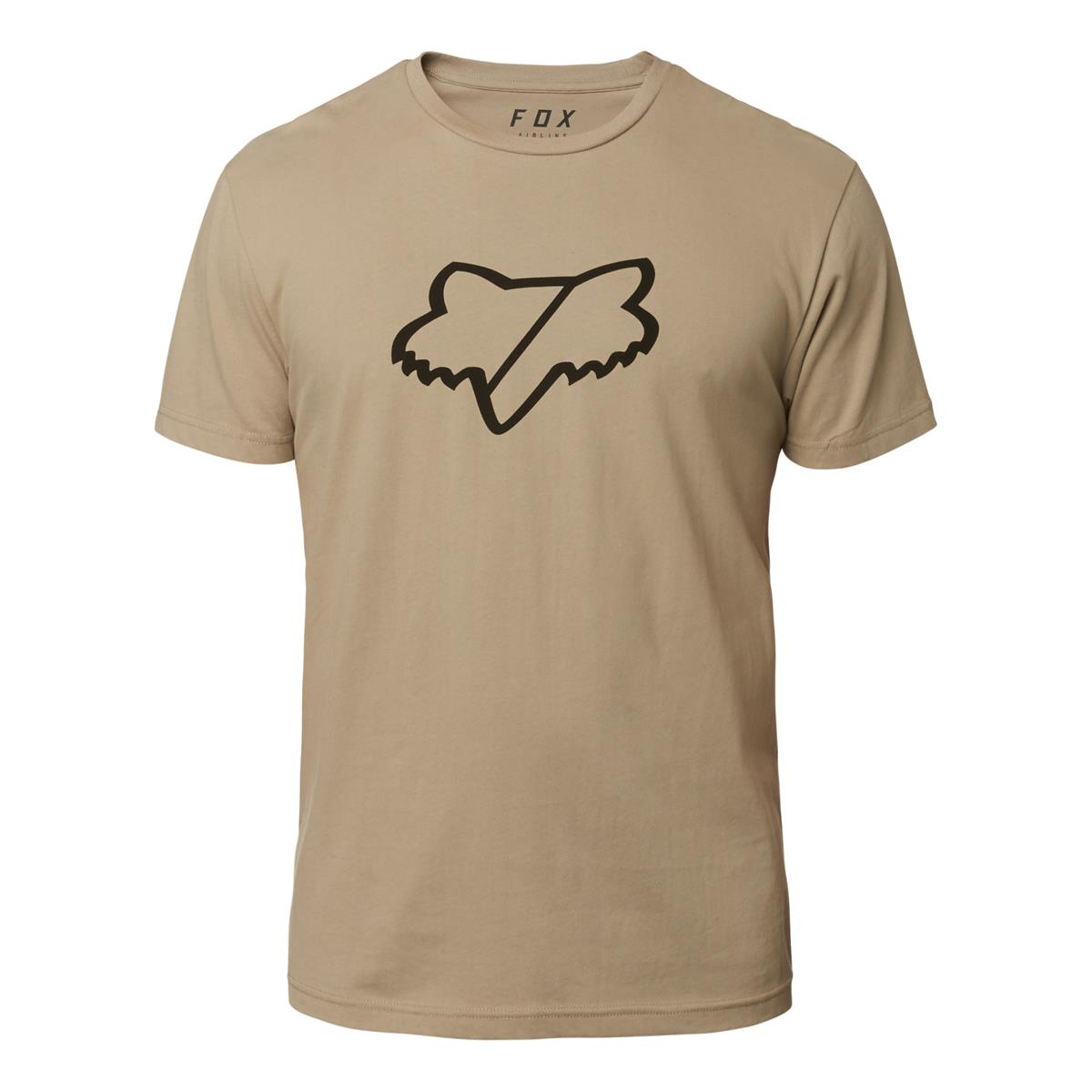 Fox T-Shirt Slash Airline Limited Edition Irmata - Sand