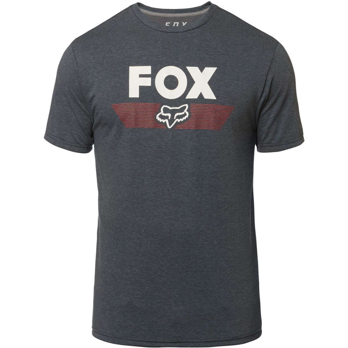 Fox T-Shirt Aviator Heather Deep Cobalt