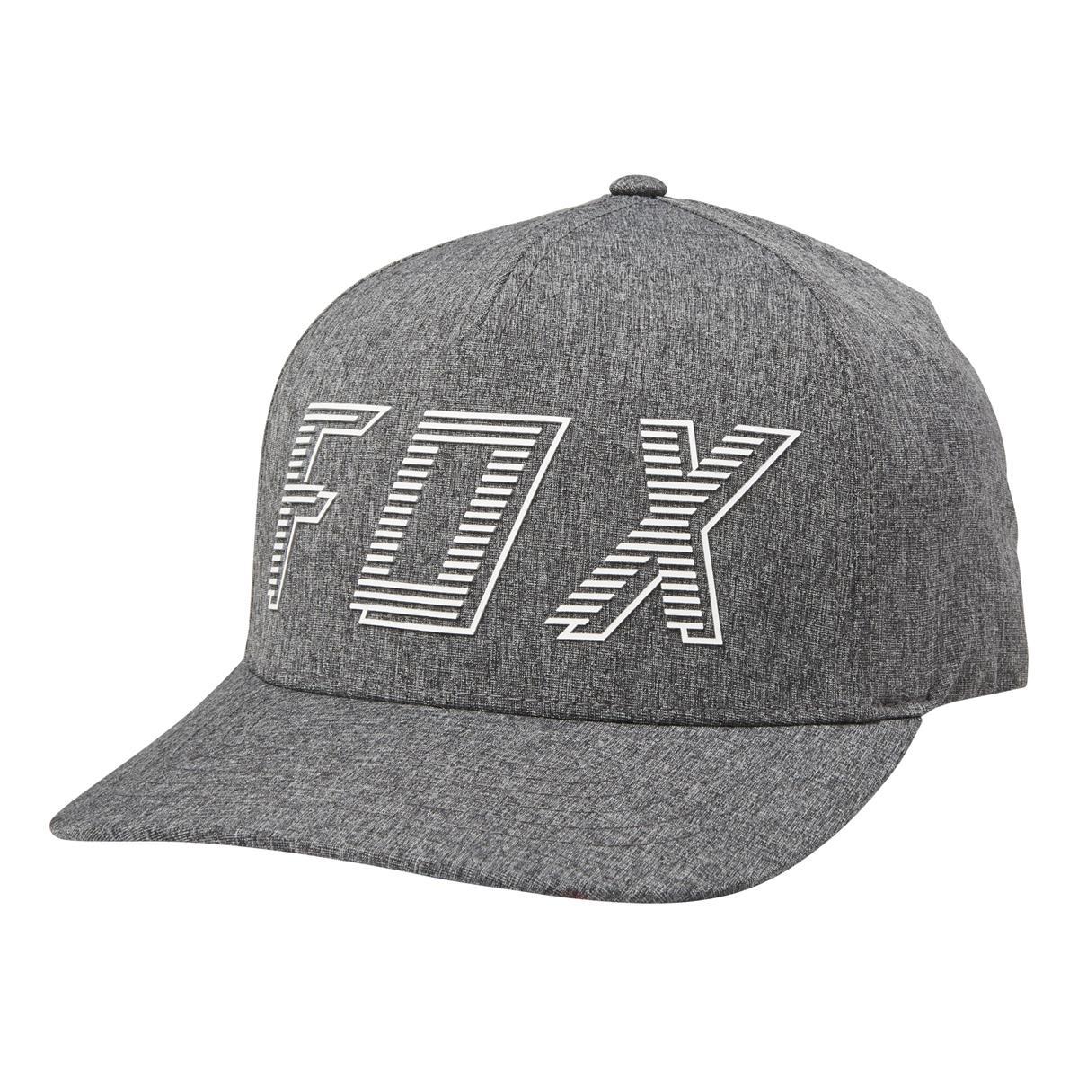 Fox Flexfit Cap Barred Dunkelgrau