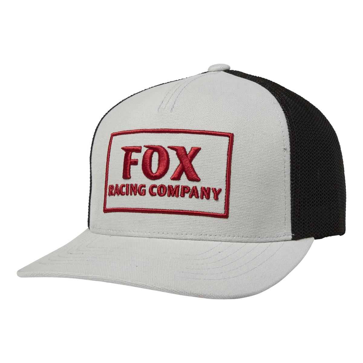 Fox Snapback Cap Heater Stahlgrau