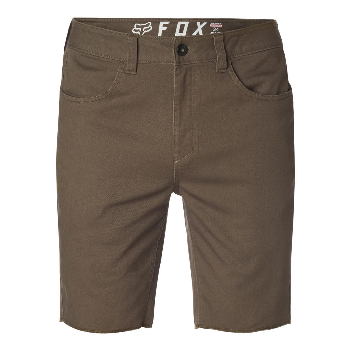 Fox Racing Dagger Skinny Mens Shorts Dirt