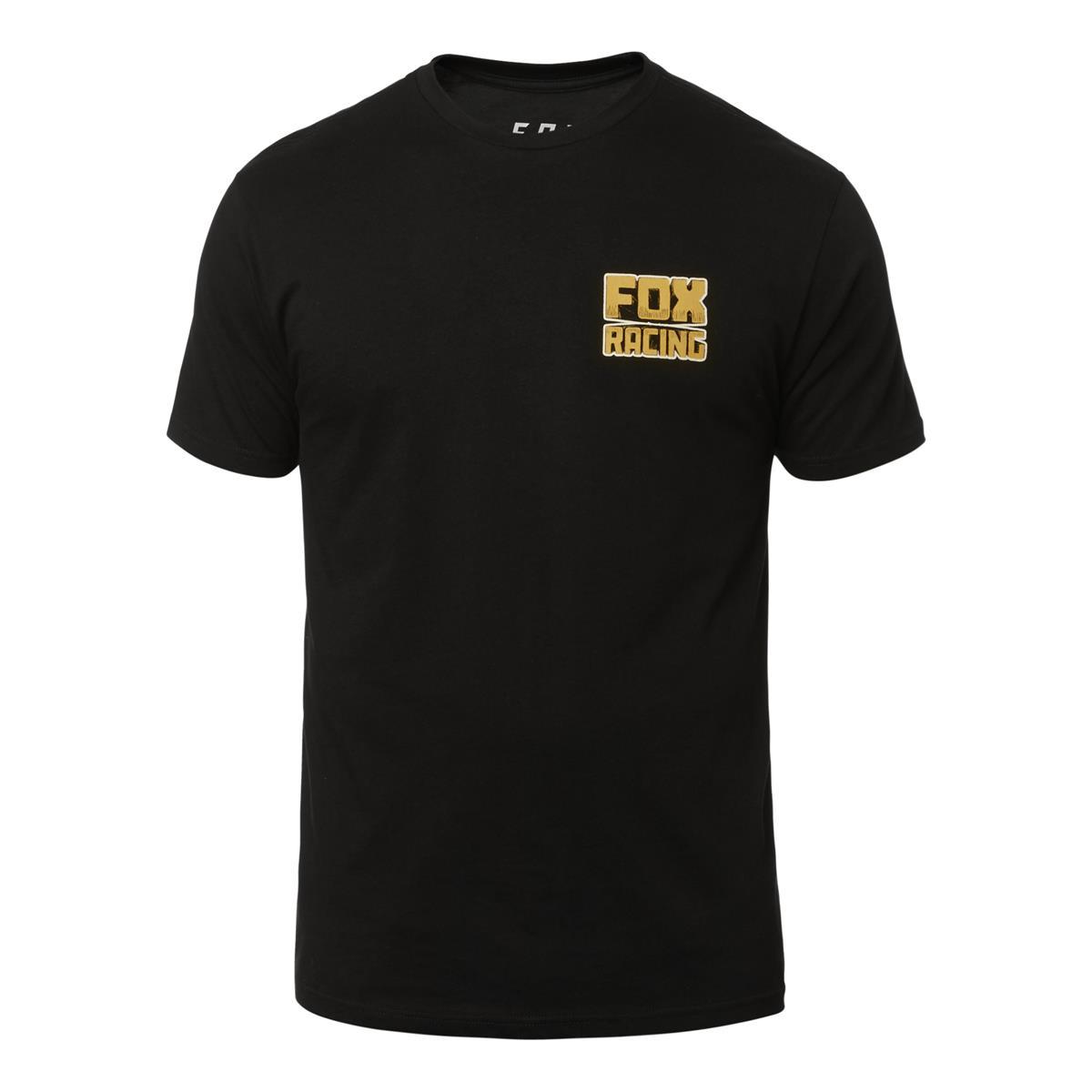 Fox T-Shirt Sleeper Schwarz
