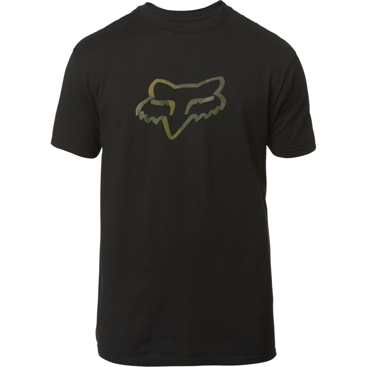 Fox T-Shirt Legacy Fox Head Camo