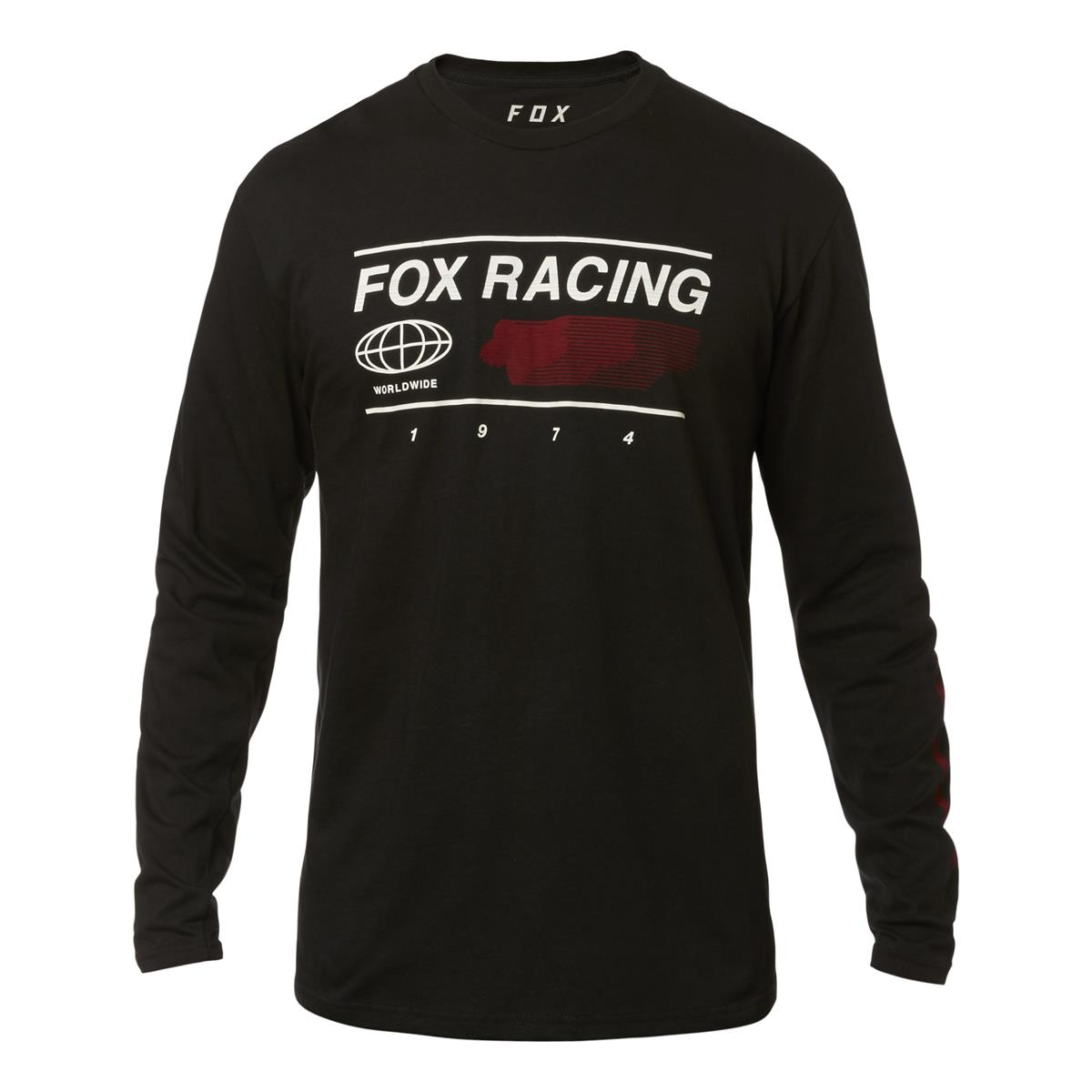 Fox Longsleeve Global Schwarz