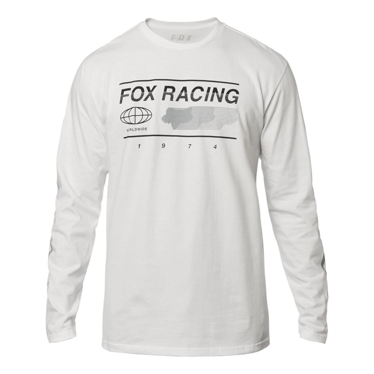 Fox Longsleeve Global Optic White