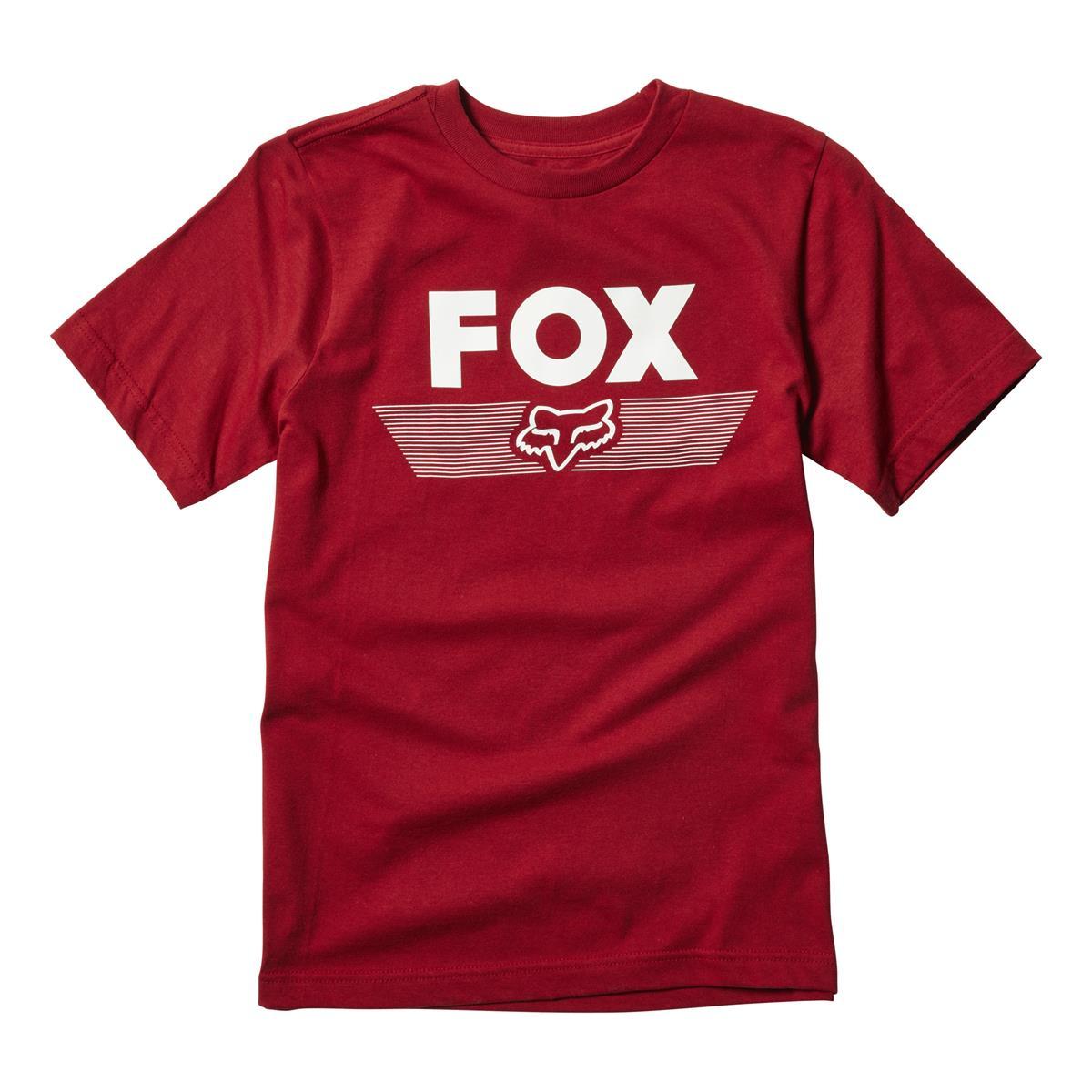 Fox Kids T-Shirt Aviator Cardinal