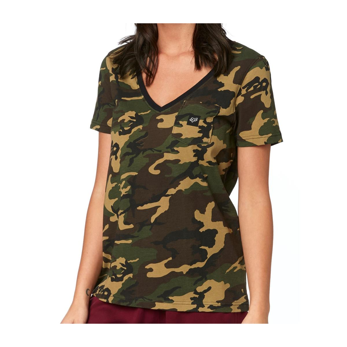 Fox Girls T-Shirt Falcon Camo