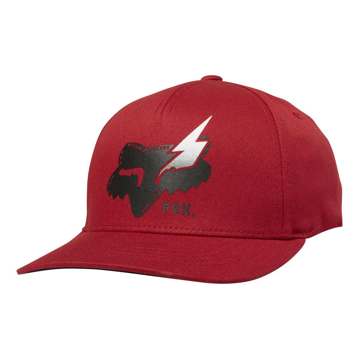 Fox Kids Snapback Cap Hellion 110 Cardinal