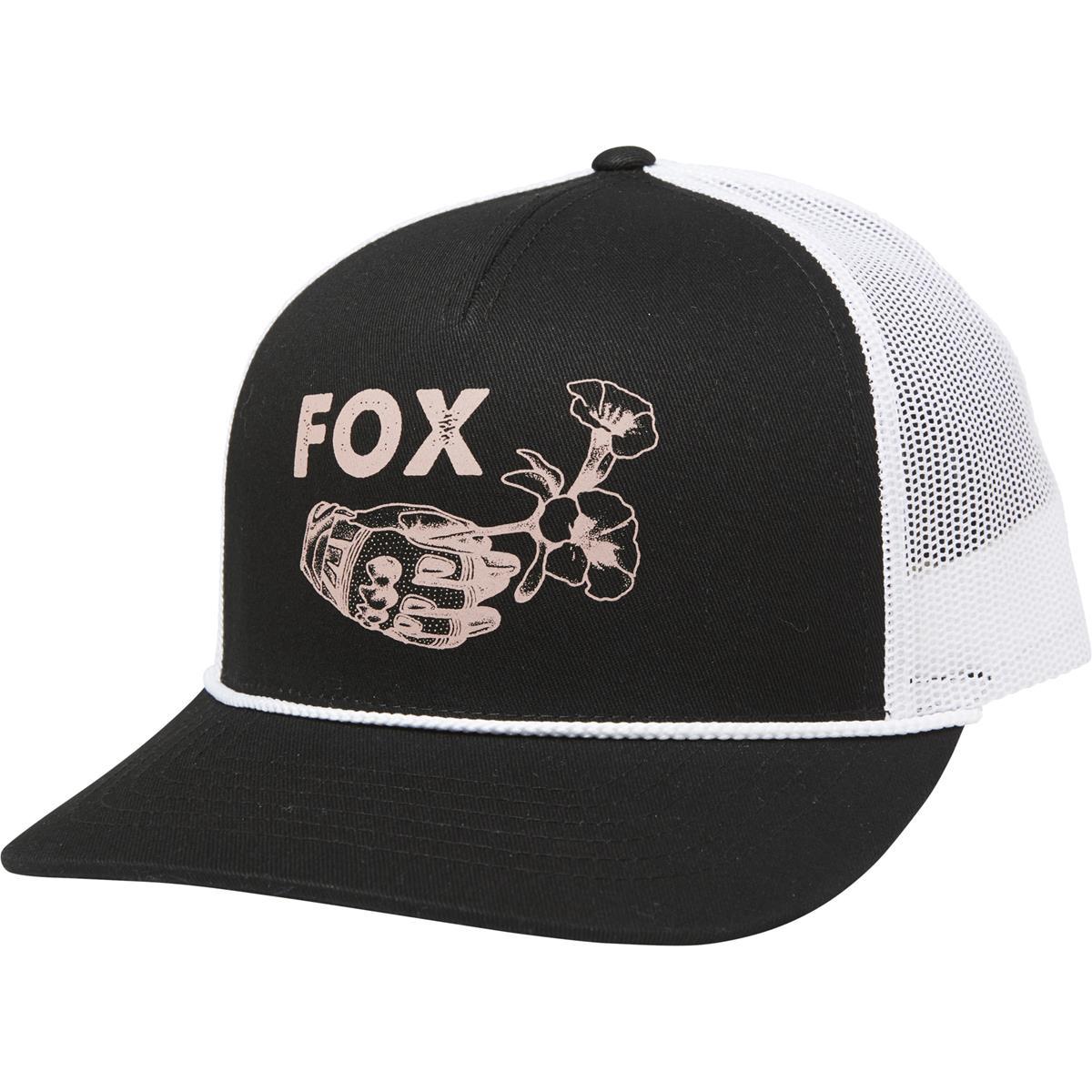 Fox Girls Snapback Cap Live Fast Schwarz