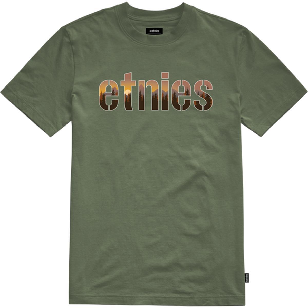 Etnies T-Shirt Landscape Military