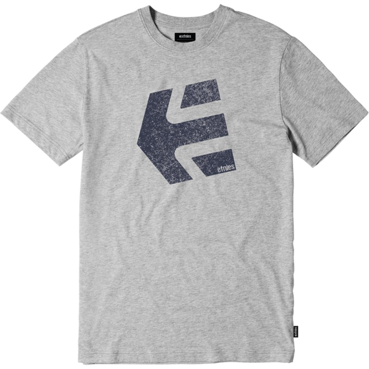 Etnies T-Shirt Logomania Grau meliert