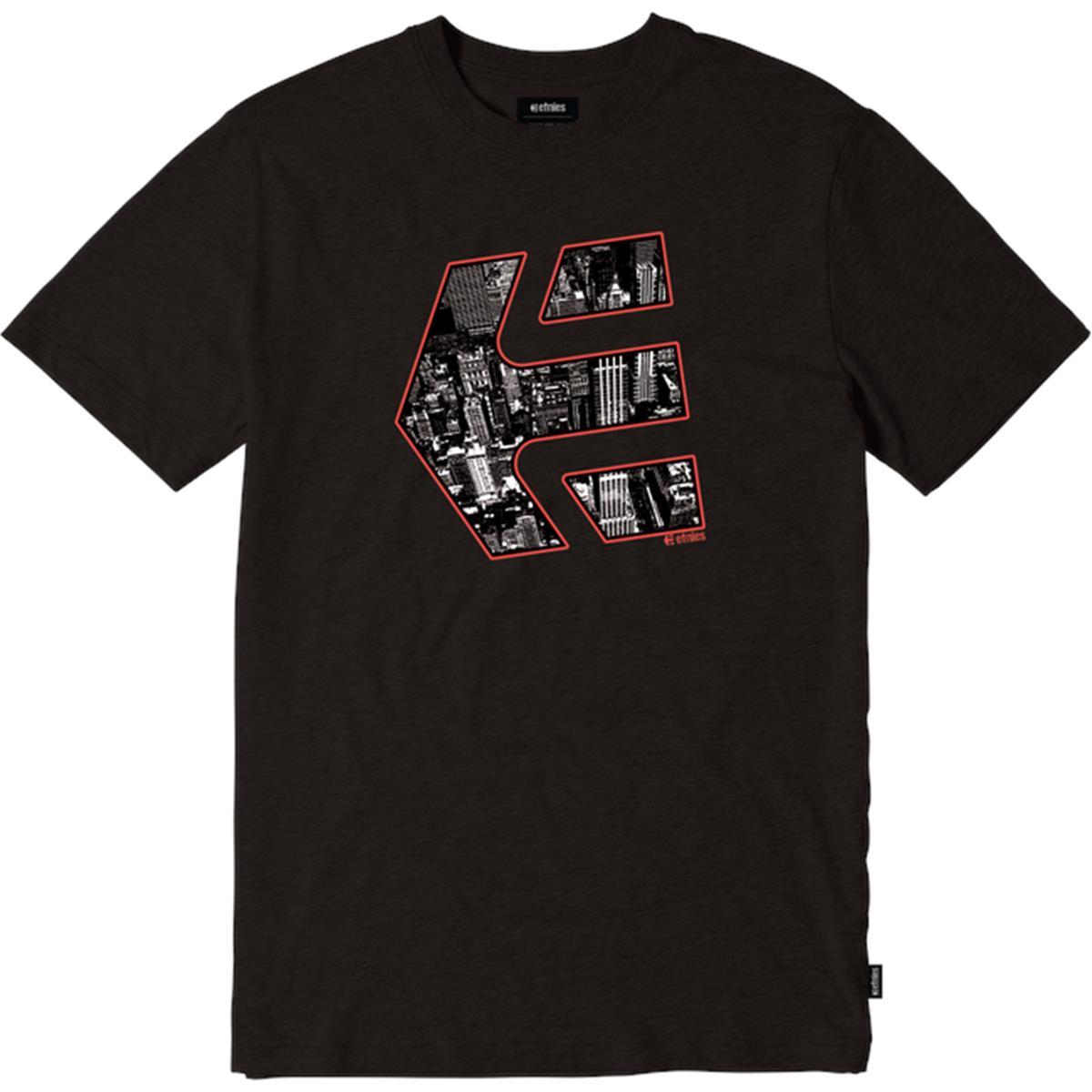 Etnies T-Shirt City Icon Schwarz