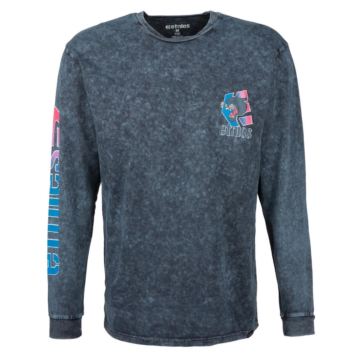 Etnies T-Shirt Retro Ls Indigo