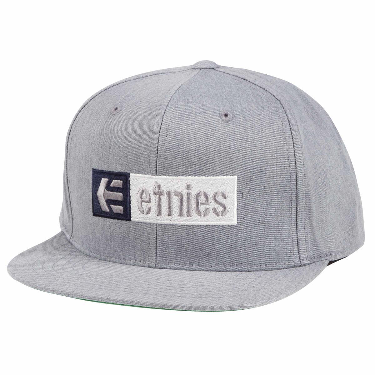 Etnies Cap Corp Box Mix Grau meliert