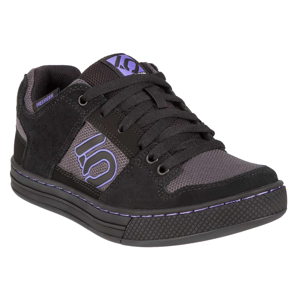 Five Ten Girls MTB-Schuhe Freerider Carbon/Core Black/Purple