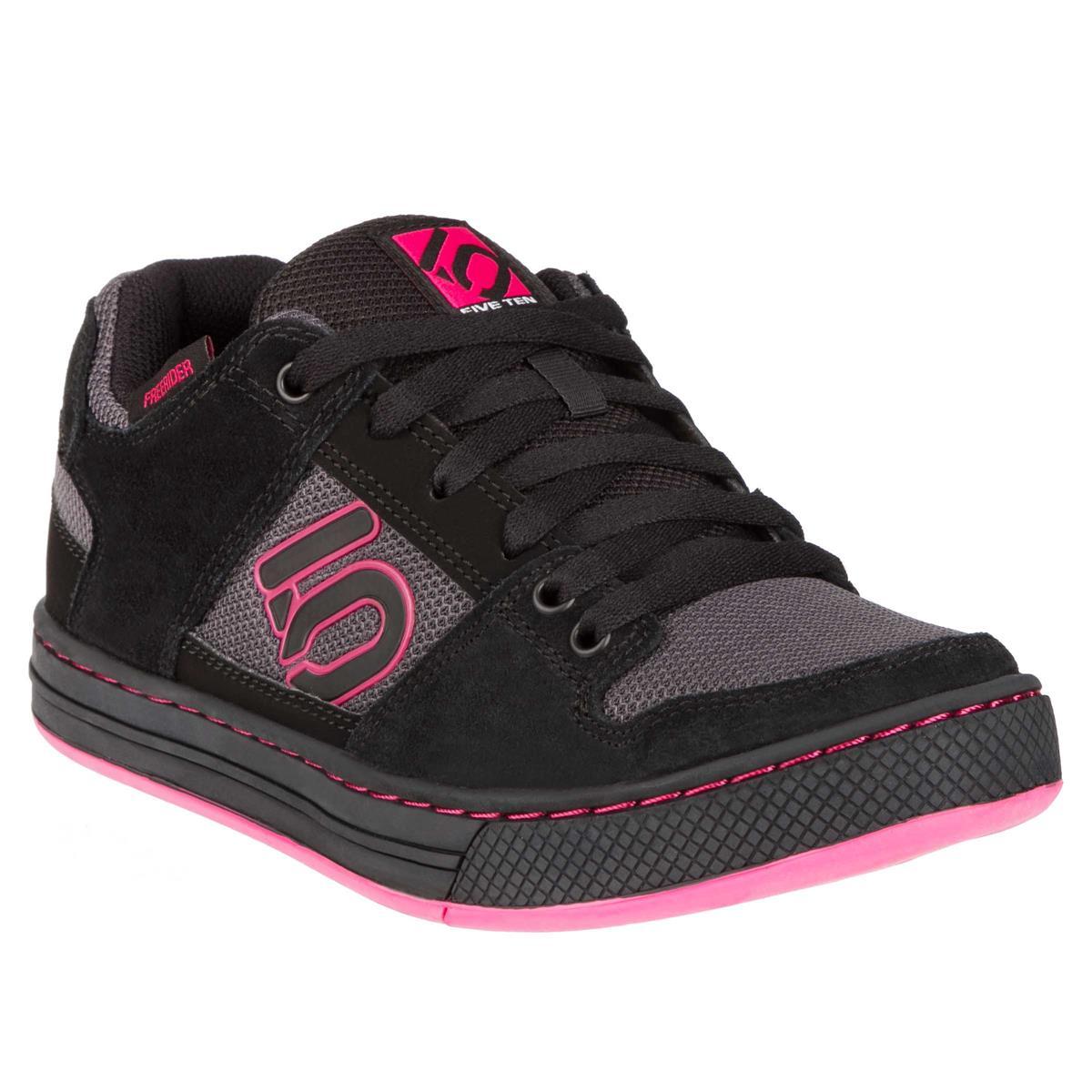 Five Ten Girls MTB-Schuhe Freerider Carbon/Core Black/Vivid Berry