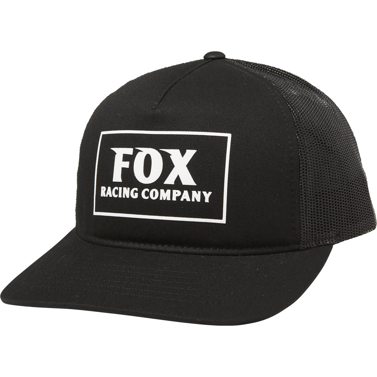 Fox Girls Snapback Cap Heater Schwarz