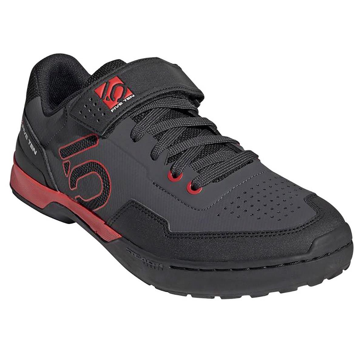 Five Ten MTB-Schuhe Kestrel Lace Clipless Carbon/Core Black/Red