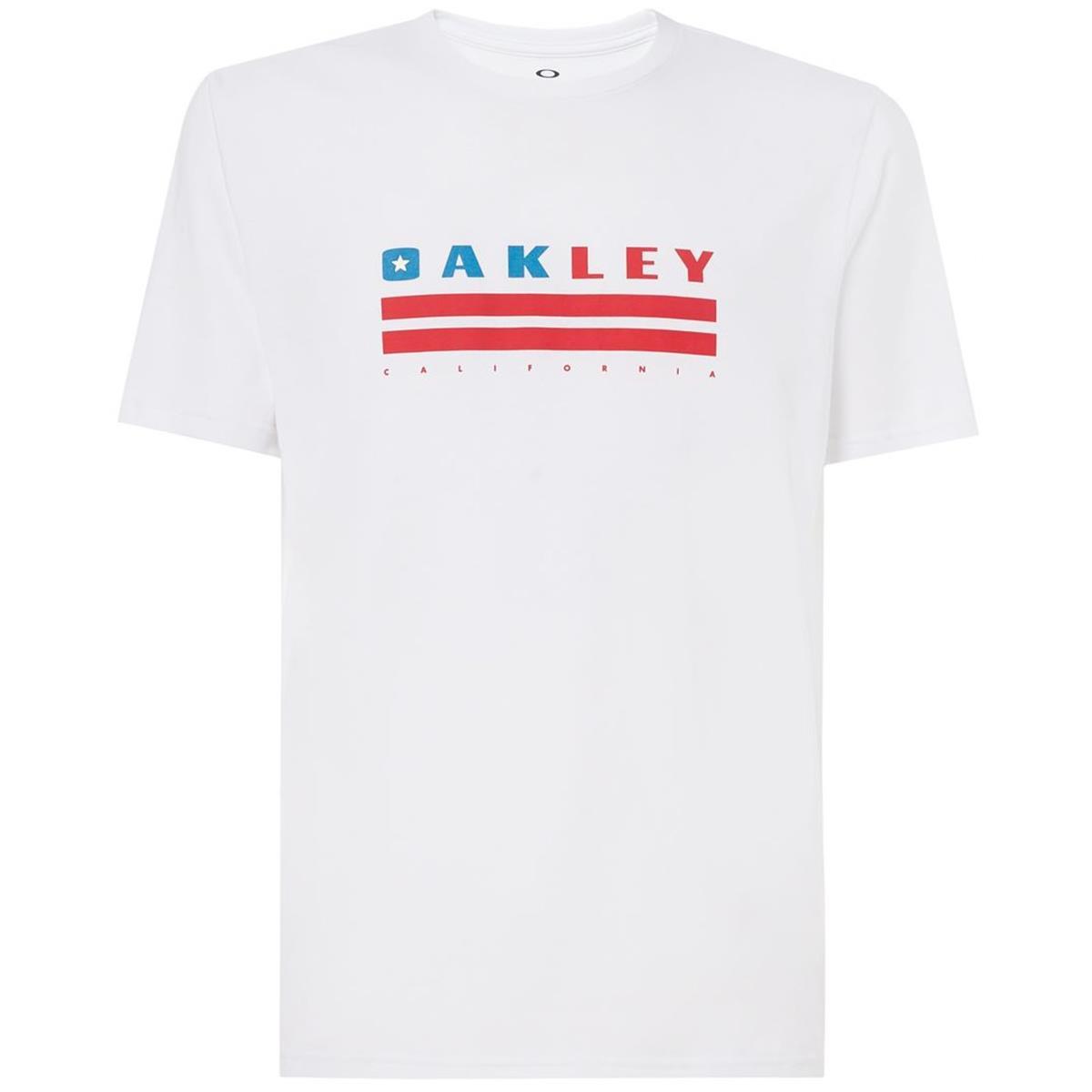 Oakley T-Shirt California Weiß