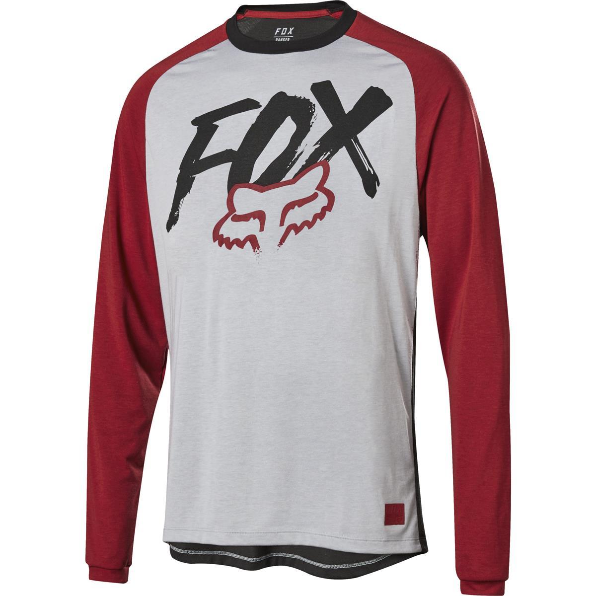 Fox Kids Downhill-Jersey Ranger Dr Steel Grey
