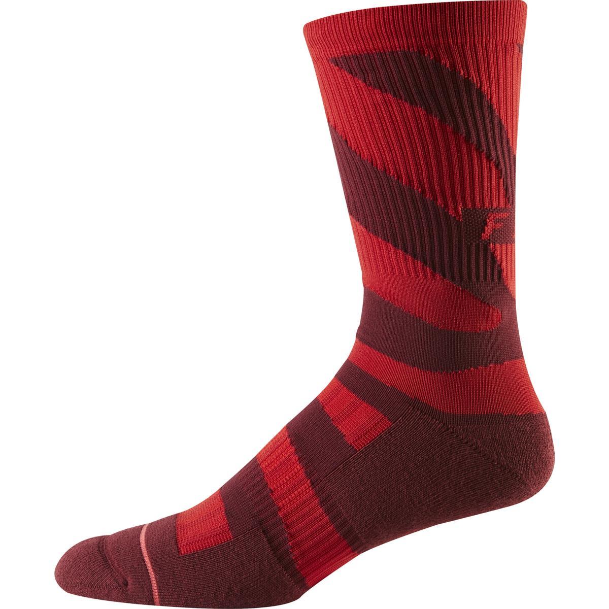 Fox Socken 8 Inch Trail Cushion Cardinal