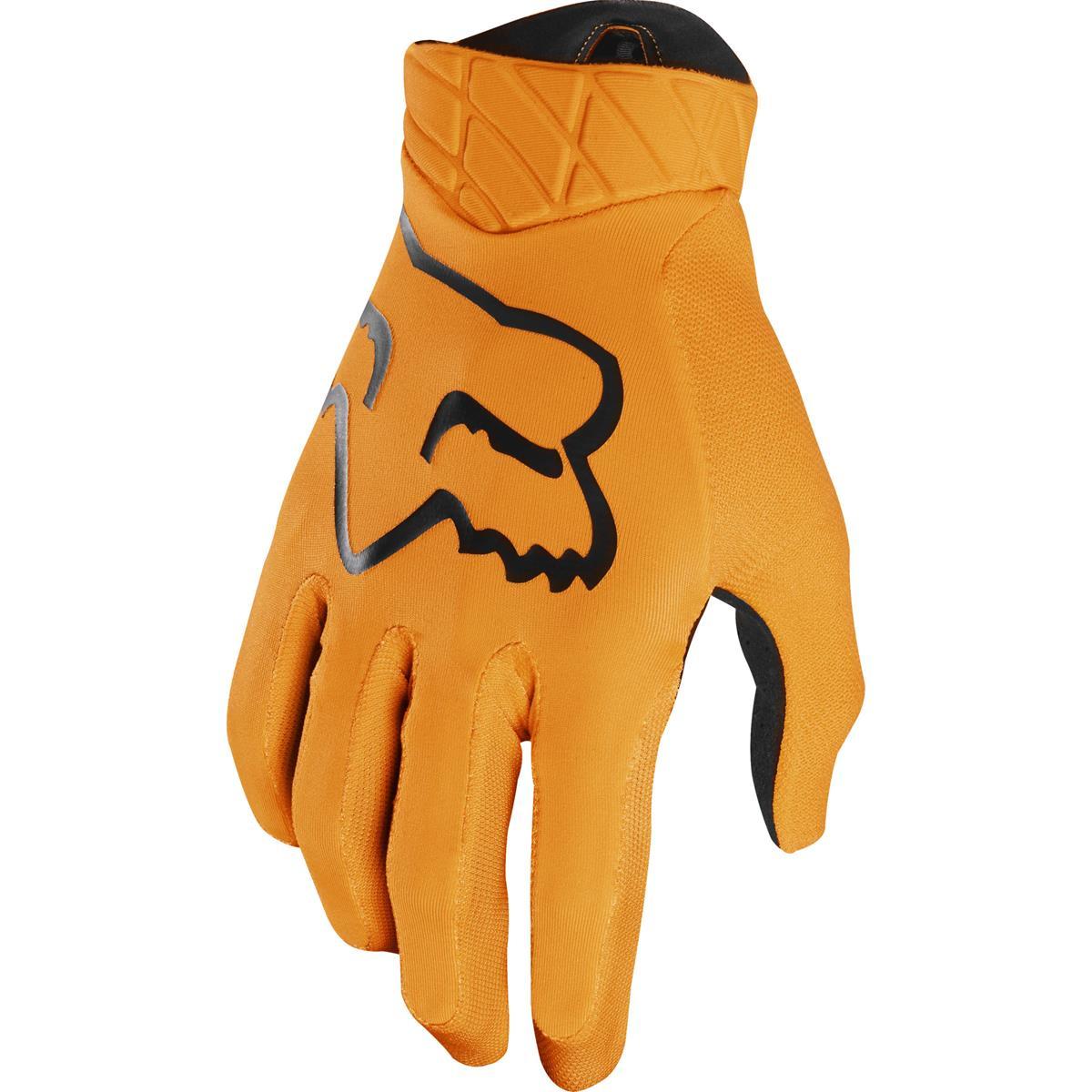 Fox Bike-Handschuhe Flexair Atomic Orange