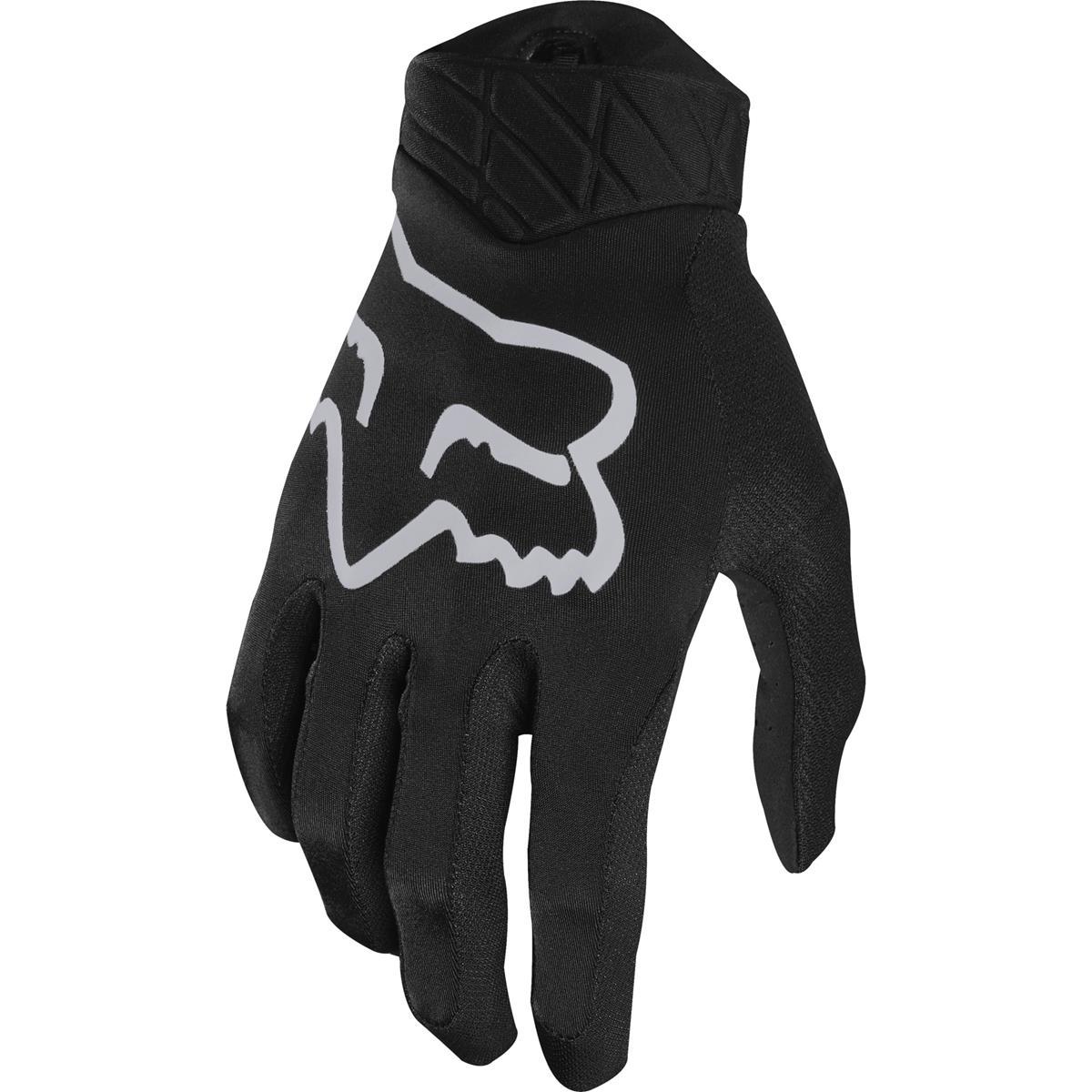 Fox Bike-Handschuhe Flexair Schwarz