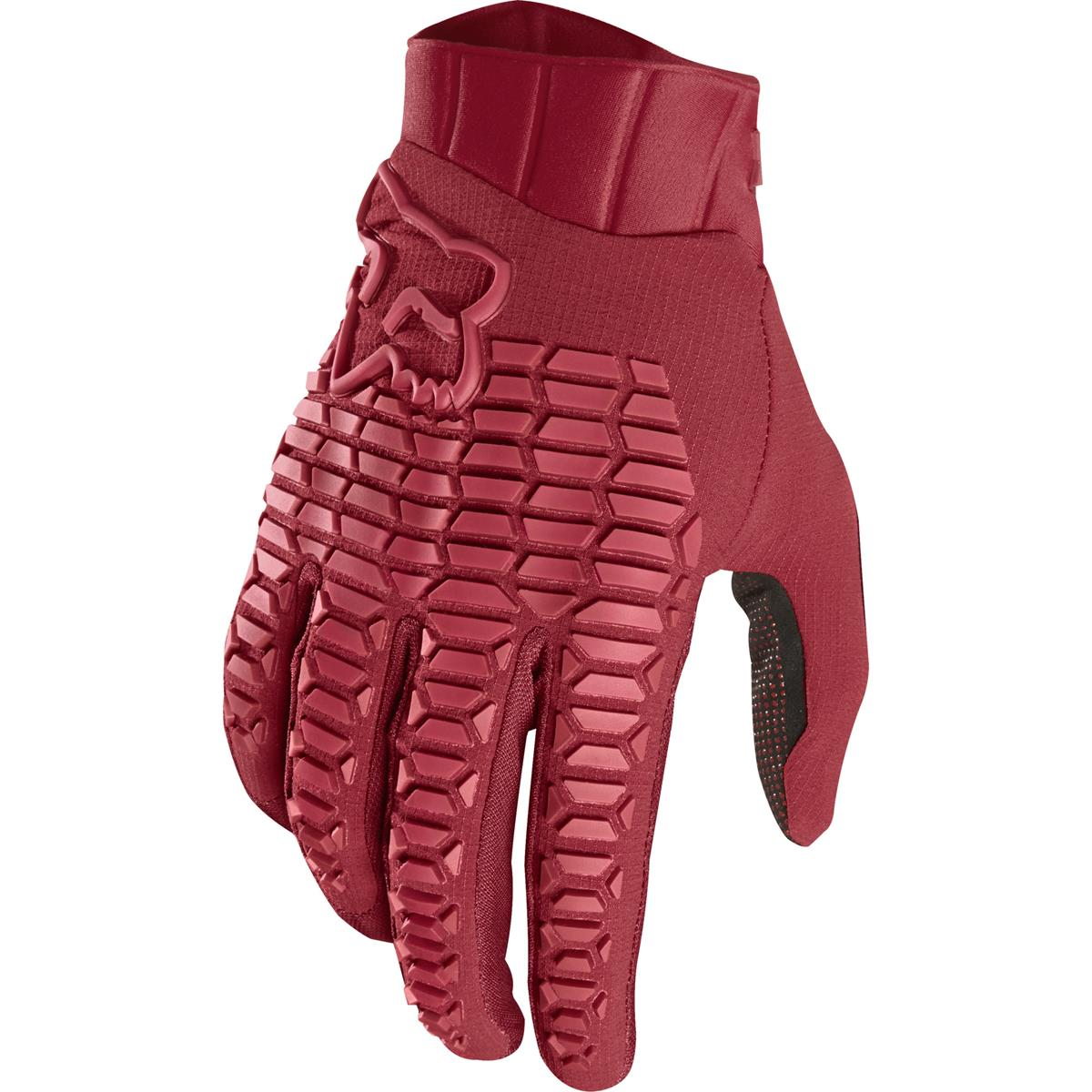 Fox Bike-Handschuhe Defend Cardinal
