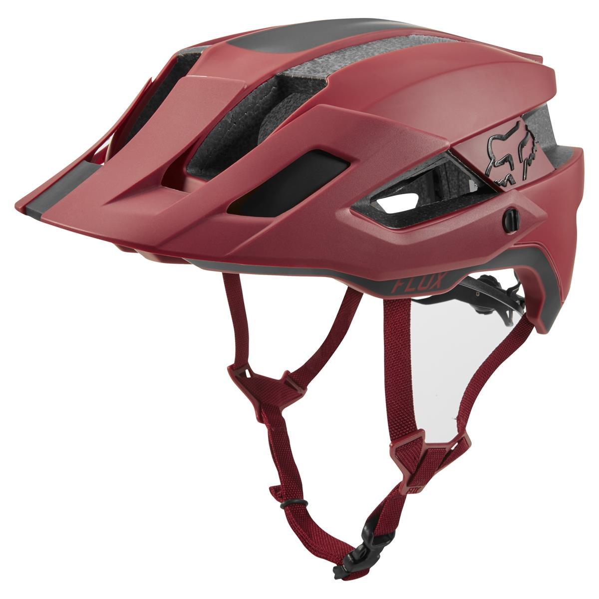 Fox Trail-MTB Helm Flux Rush - Cardinal