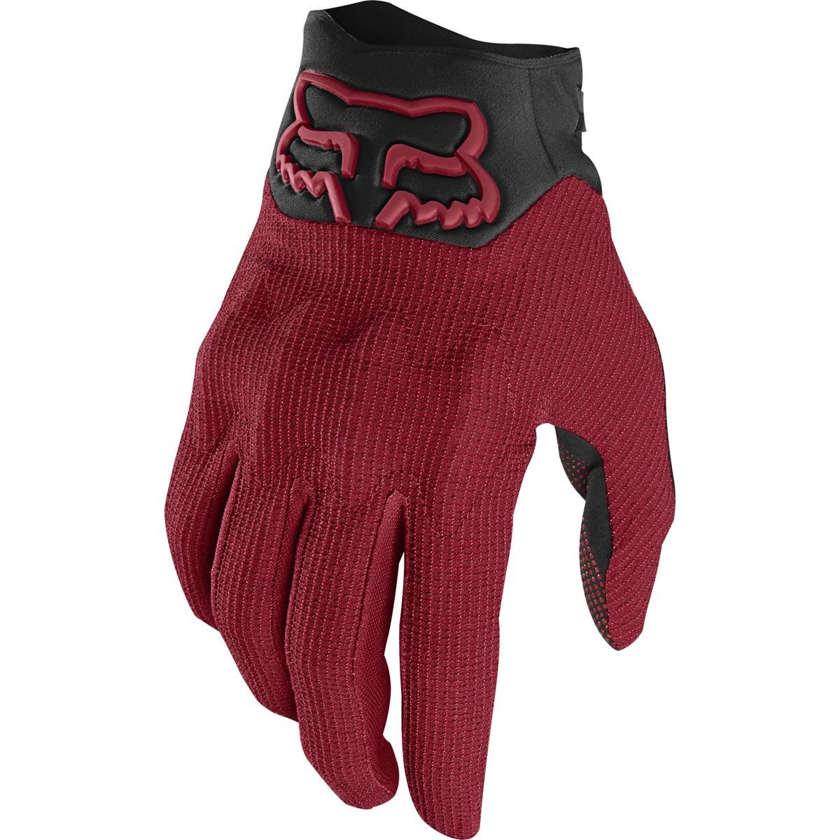 Fox Bike-Handschuhe Defend Kevlar D3O Cardinal