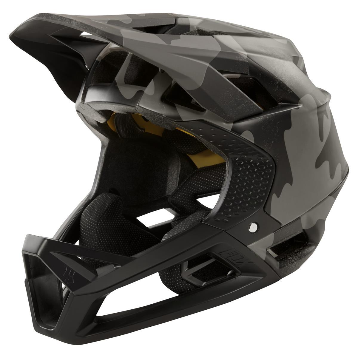 Fox Downhill-MTB Helm Proframe Black Camo