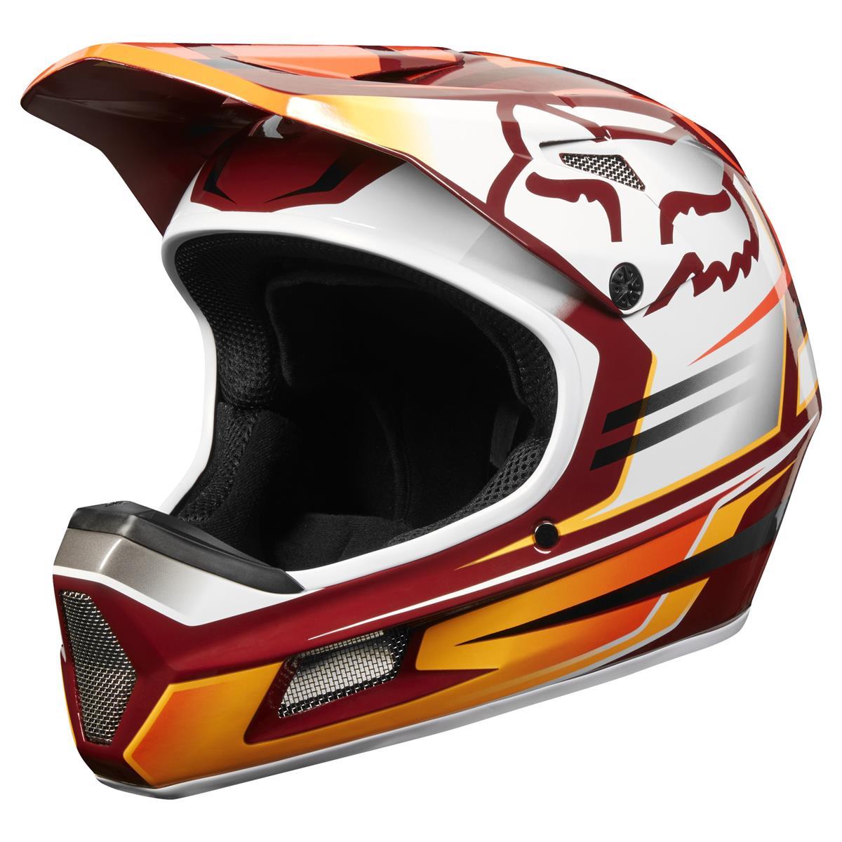 Fox Downhill-MTB Helm Rampage Comp Reno - Cardinal